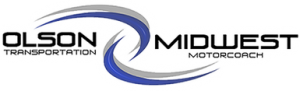 Olson Midwest Transportation Motorcoach Logo