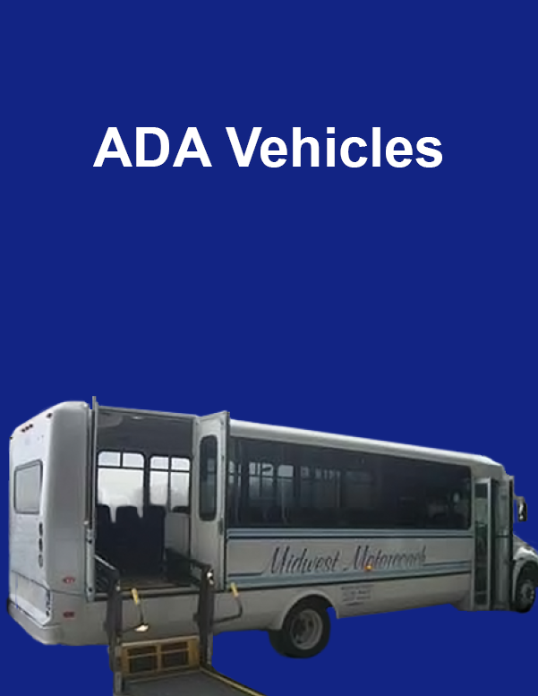 ADA Vehicle Midwest Motorcoach Disability Handicap Elder