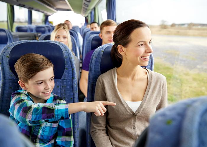 Field Trip Transportation Chaperone Coach Bus